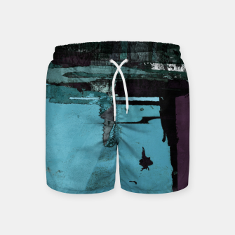 Thumbnail image of Hidden window Swim Shorts, Live Heroes