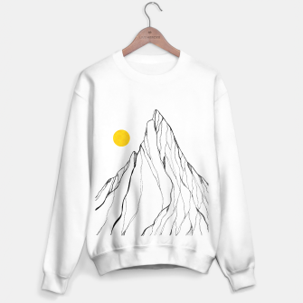 Miniature de image de Yellow line peak Sweater regular, Live Heroes