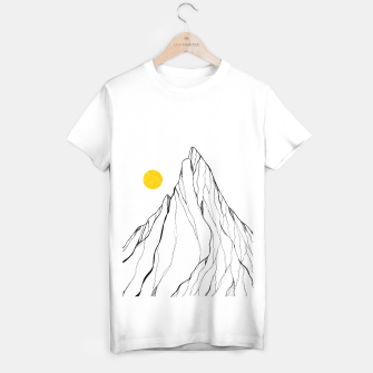 Miniature de image de Yellow line peak T-shirt regular, Live Heroes