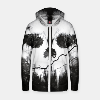 ghosts Zip up hoodie obraz miniatury