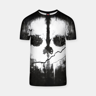 ghosts T-shirt obraz miniatury