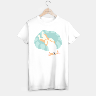 Thumbnail image of Classic corgi day - look at the world the right way  T-shirt regular, Live Heroes