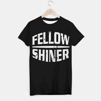 Thumbnail image of Fellow Shiner Logo Bright T-Shirt Regular Black, Live Heroes