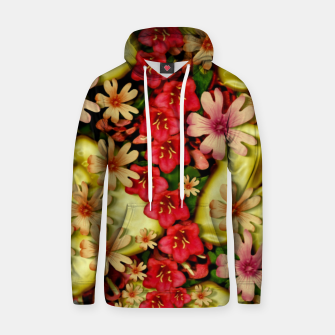 Thumbnail image of Big flowers of peace small of love  Hoodie, Live Heroes