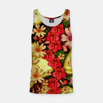 Thumbnail image of Big flowers of peace small of love  Tank Top, Live Heroes