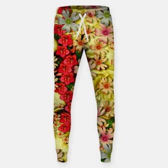 Thumbnail image of Big flowers of peace small of love  Sweatpants, Live Heroes