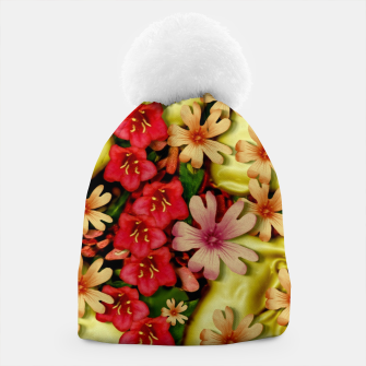Thumbnail image of Big flowers of peace small of love  Beanie, Live Heroes