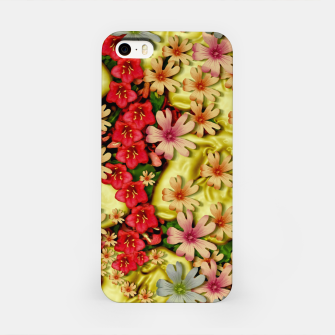 Thumbnail image of Big flowers of peace small of love  iPhone Case, Live Heroes