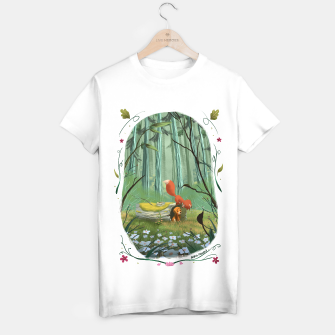 Thumbnail image of The fox and the hound Camiseta Regular, Live Heroes