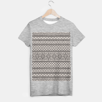 Miniatur Farmhouse Oriental Traditional Moroccan Style Design T-shirt regular, Live Heroes