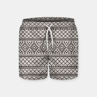Miniatur Farmhouse Oriental Traditional Moroccan Style Design Swim Shorts, Live Heroes