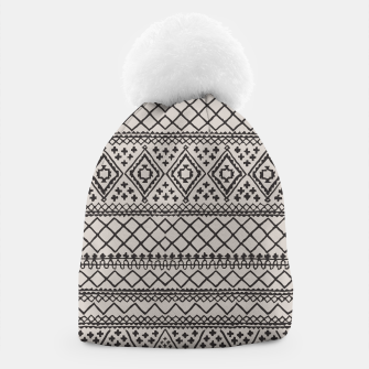 Thumbnail image of Farmhouse Oriental Traditional Moroccan Style Design Beanie, Live Heroes