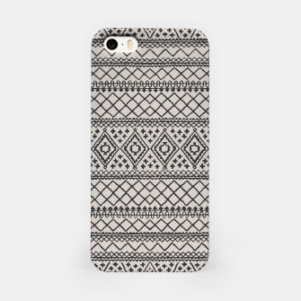 Miniatur Farmhouse Oriental Traditional Moroccan Style Design iPhone Case, Live Heroes