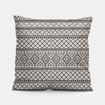 Thumbnail image of Farmhouse Oriental Traditional Moroccan Style Design Pillow, Live Heroes