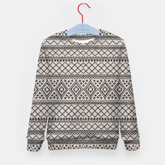 Thumbnail image of Farmhouse Oriental Traditional Moroccan Style Design Kid's sweater, Live Heroes