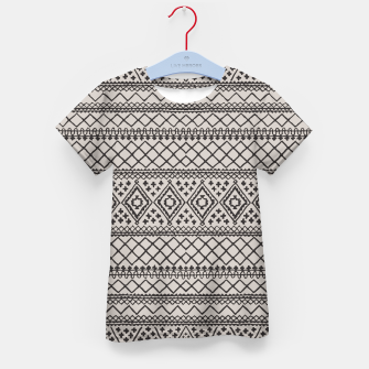 Thumbnail image of Farmhouse Oriental Traditional Moroccan Style Design Kid's t-shirt, Live Heroes