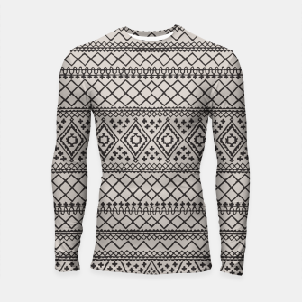 Thumbnail image of Farmhouse Oriental Traditional Moroccan Style Design Longsleeve rashguard , Live Heroes