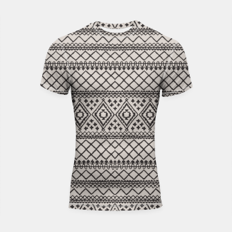 Thumbnail image of Farmhouse Oriental Traditional Moroccan Style Design Shortsleeve rashguard, Live Heroes