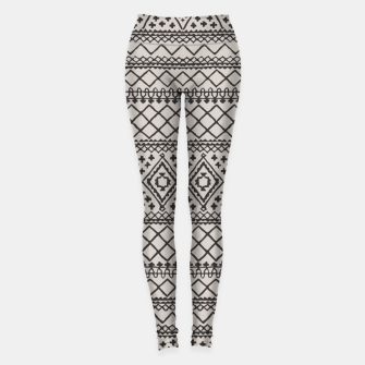 Thumbnail image of Farmhouse Oriental Traditional Moroccan Style Design Leggings, Live Heroes