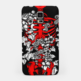 Miniatur Bones and Flowers Samsung Case, Live Heroes