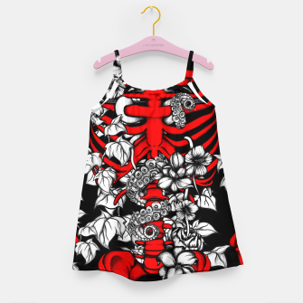 Thumbnail image of Bones and Flowers Girl's dress, Live Heroes