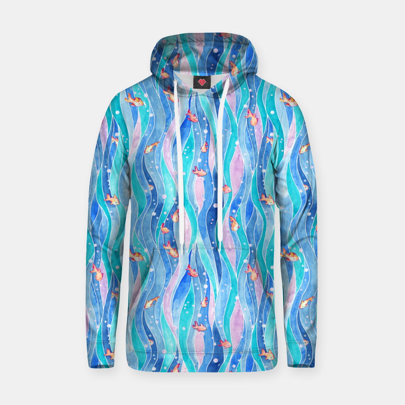 Foto Down by the water Sudadera con capucha - Live Heroes