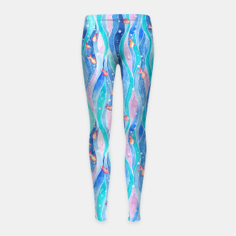 Down by the water Leggings para niña Bild der Miniatur