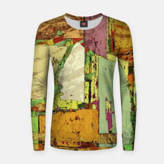 Thumbnail image of Paper trail Women sweater, Live Heroes