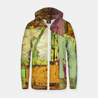 Paper trail Zip up hoodie thumbnail image