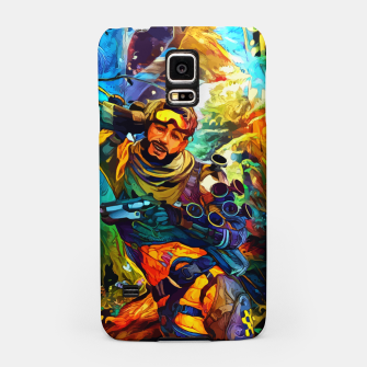 Thumbnail image of Holographic trikster Carcasa por Samsung, Live Heroes