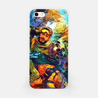 Thumbnail image of Holographic trikster Carcasa por Iphone, Live Heroes