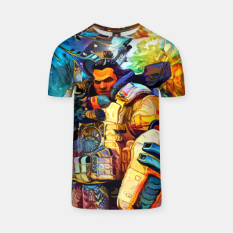 Thumbnail image of Shielded Fortress Camiseta, Live Heroes