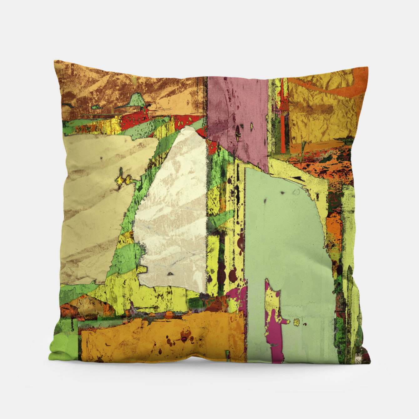 Image of Paper trail Pillow - Live Heroes
