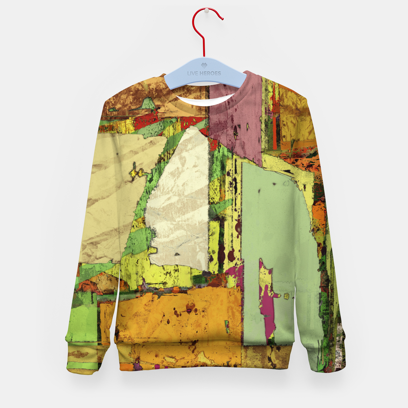 Image of Paper trail Kid's sweater - Live Heroes