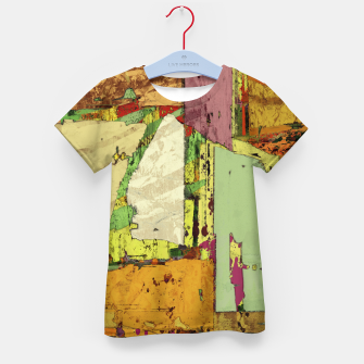Thumbnail image of Paper trail Kid's t-shirt, Live Heroes