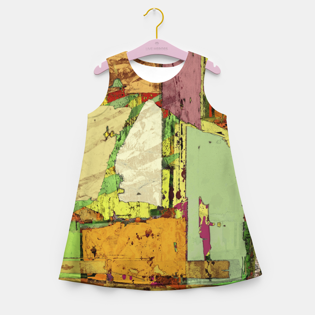 Image of Paper trail Girl's summer dress - Live Heroes