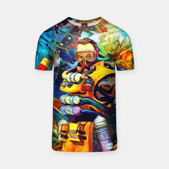 Thumbnail image of toxic trapper Camiseta, Live Heroes