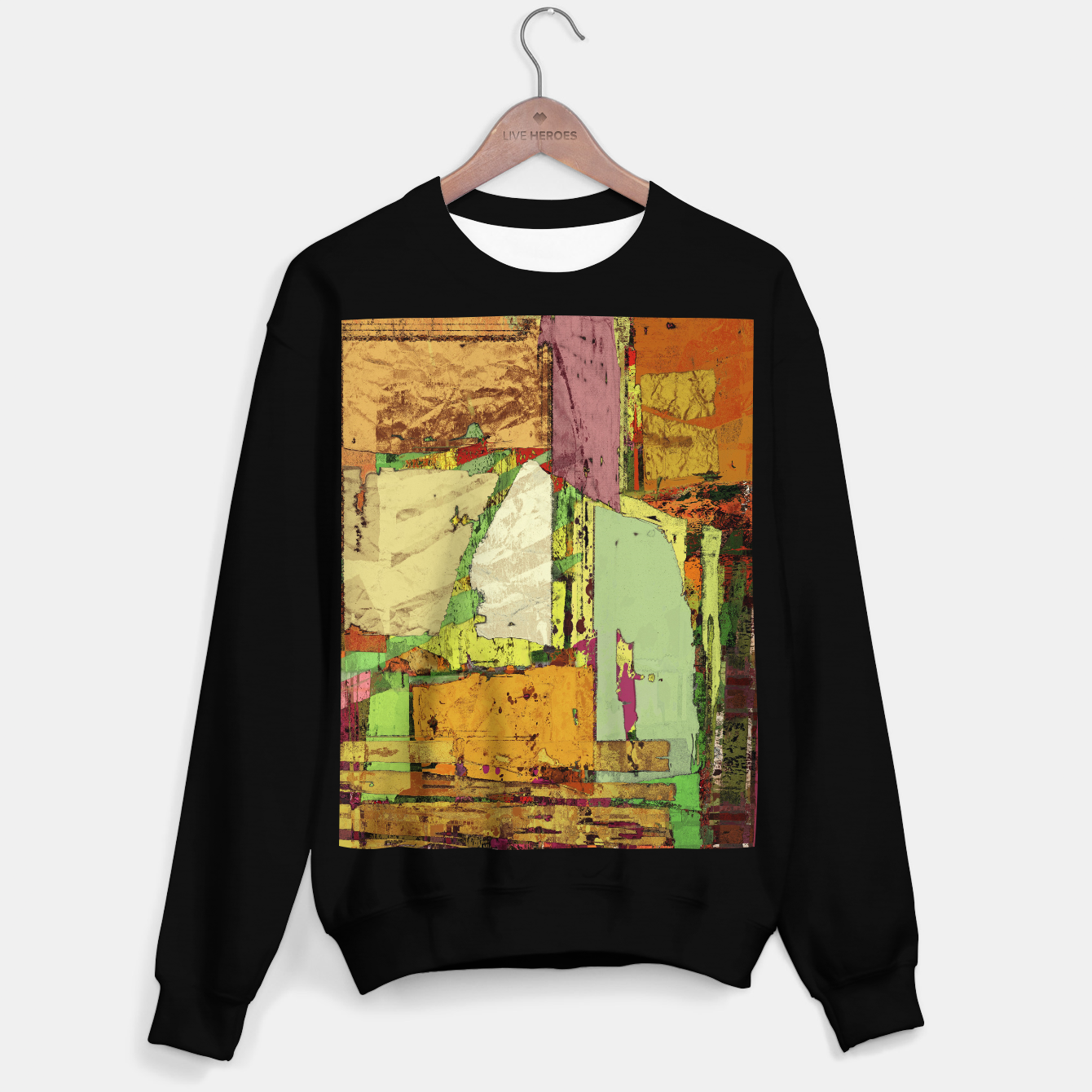 Image of Paper trail Sweater regular - Live Heroes
