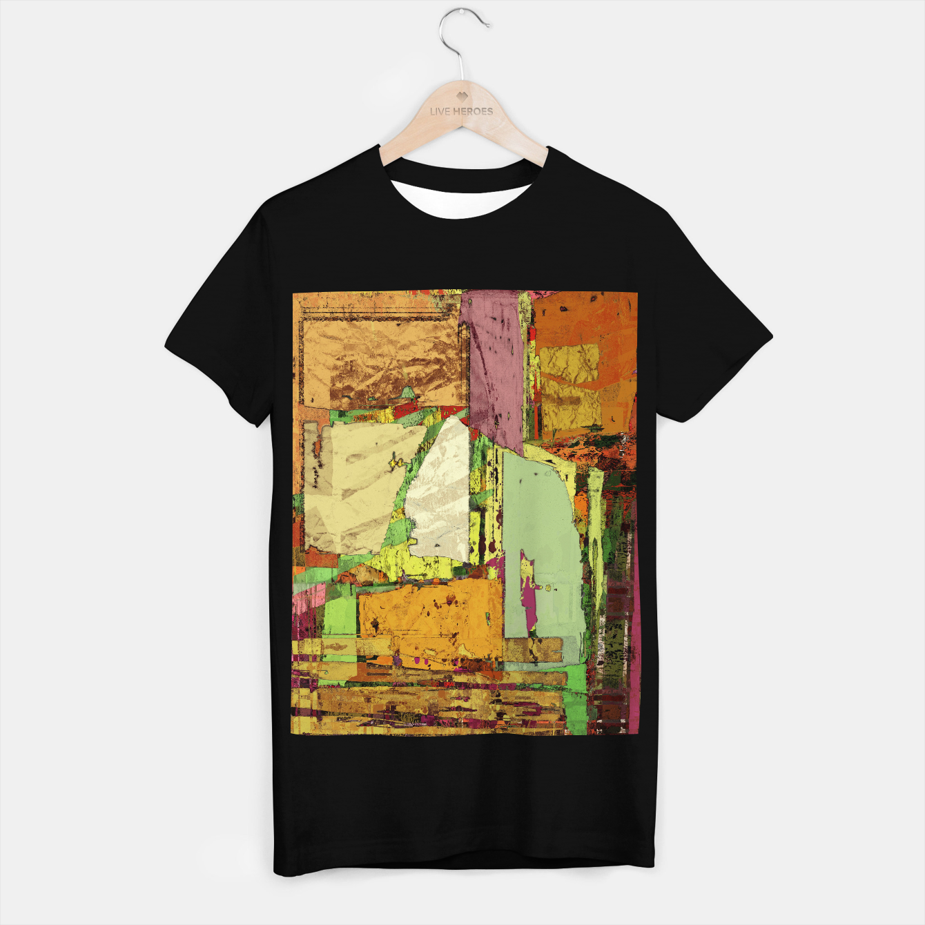 Image of Paper trail T-shirt regular - Live Heroes