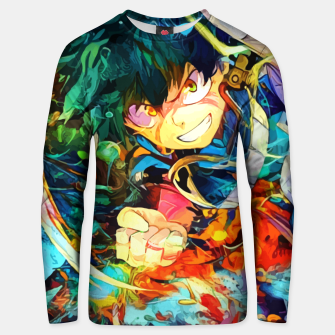 Thumbnail image of A nice Punch Sudadera unisex, Live Heroes