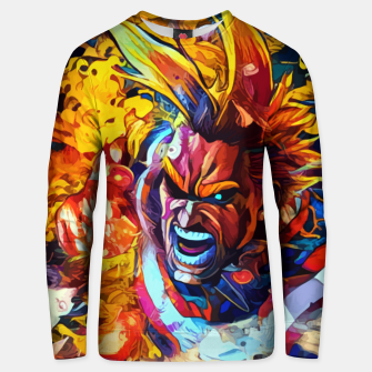 Thumbnail image of Bloodly punch Sudadera unisex, Live Heroes