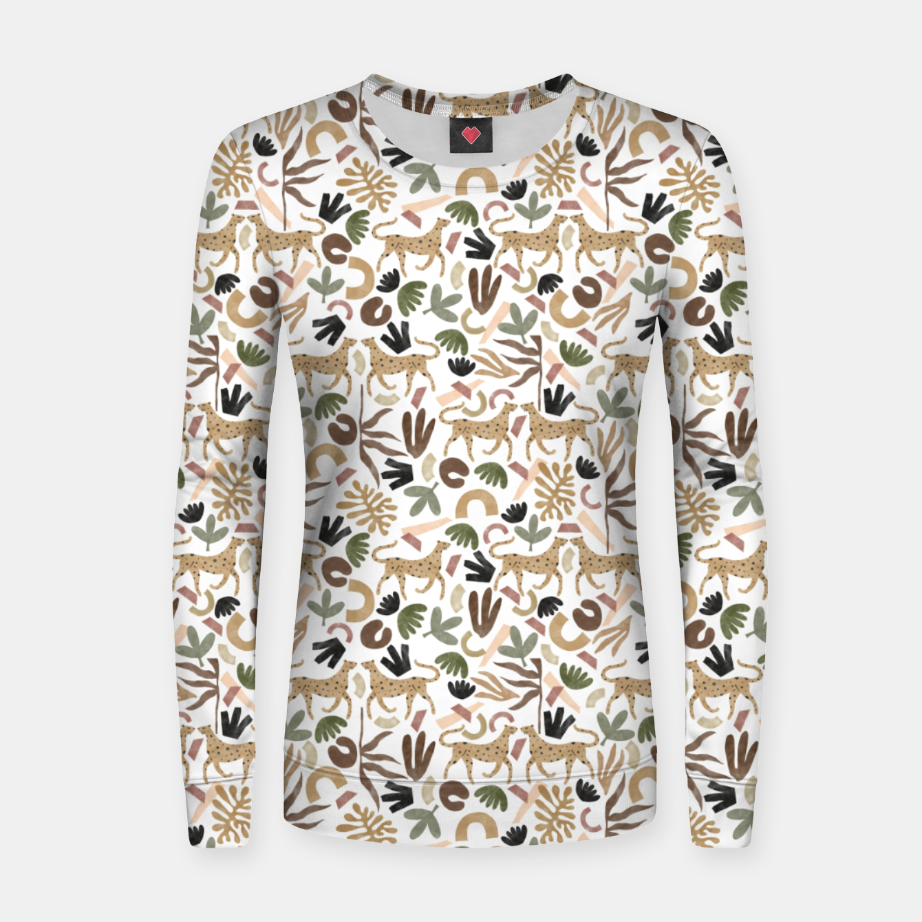Foto Leopards in modern nature UI Sudadera para mujeres - Live Heroes