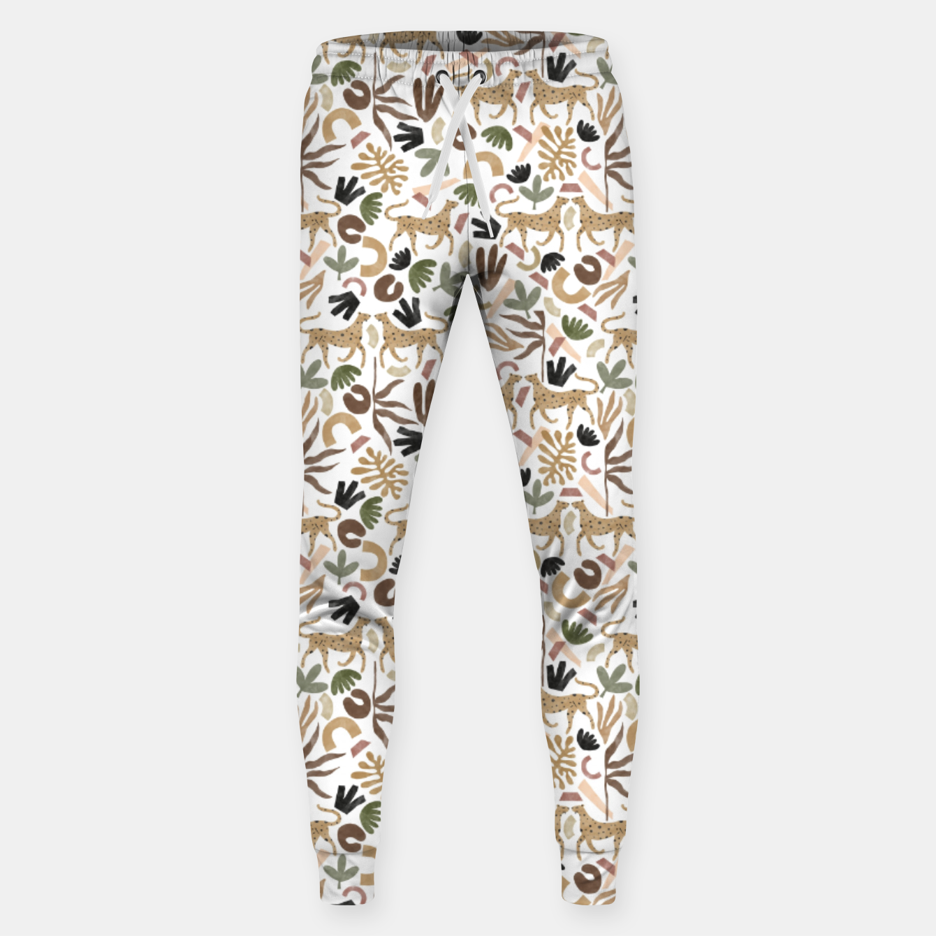 Image of Leopards in modern nature UI Pantalones de chándal  - Live Heroes
