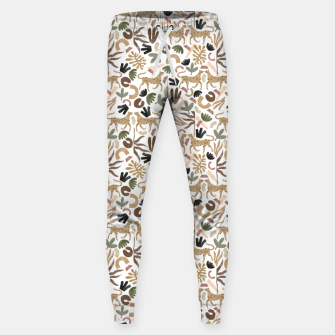 Thumbnail image of Leopards in modern nature UI Pantalones de chándal , Live Heroes