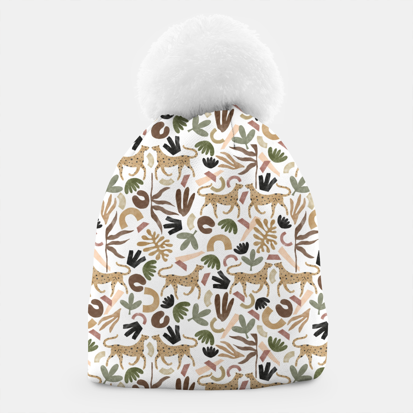 Image of Leopards in modern nature UI Gorro - Live Heroes