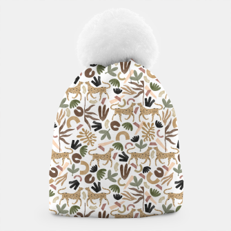 Leopards in modern nature UI Gorro Bild der Miniatur