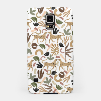 Leopards in modern nature UI Carcasa por Samsung thumbnail image