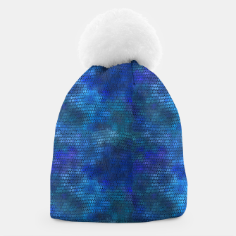 Thumbnail image of Blue Dragon Scales Beanie, Live Heroes