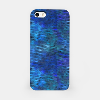 Thumbnail image of Blue Dragon Scales iPhone Case, Live Heroes