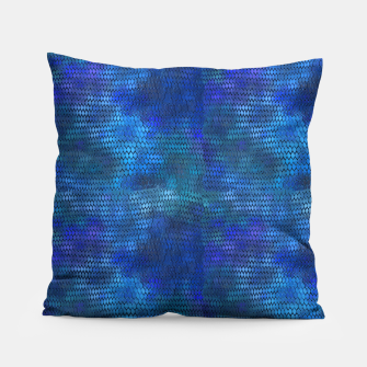 Thumbnail image of Blue Dragon Scales Pillow, Live Heroes